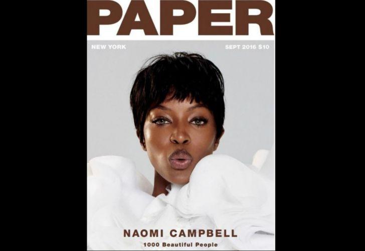 Naomí Campbell, ícono de los 90, cumple 50 años