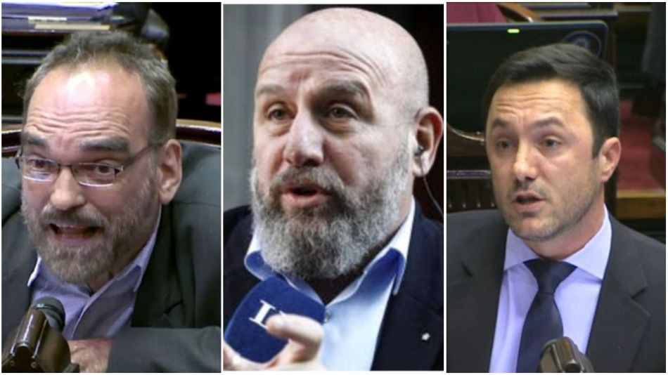 Fernando Iglesias, Waldo Wolff, Luis Petri.