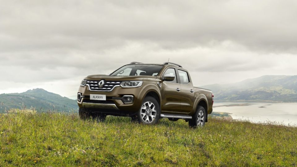 ALASKAN, la nueva pick up de Renault.