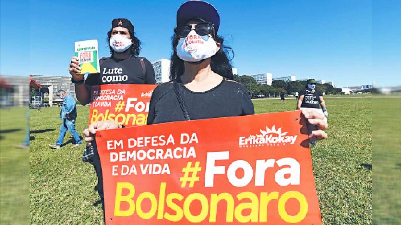 Fora. Brasil es el país más golpeado, con 20 mil decesos.