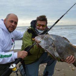 La pesca se habilitó para los habitantes de la zona.