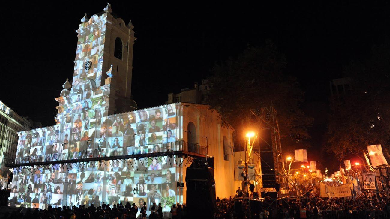 Los festejos celebrados para el bicentenario del 25 de mayo de 2010