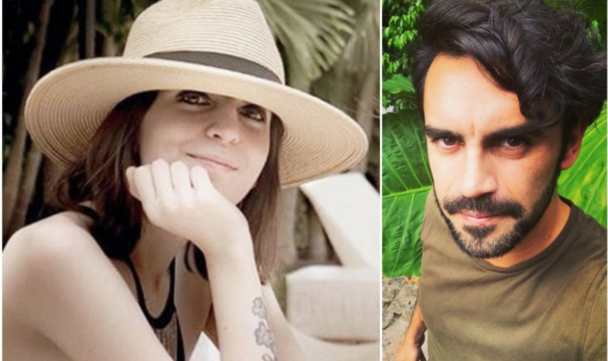 "Gonzálo Heredia entrevista a Florencia Kirchner en su programa ""Notas al pie""."