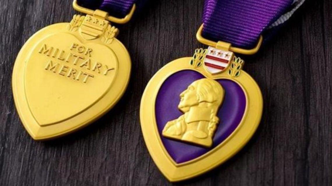 El Corazón Púrpura, una de las primeras medallas de la historia militar