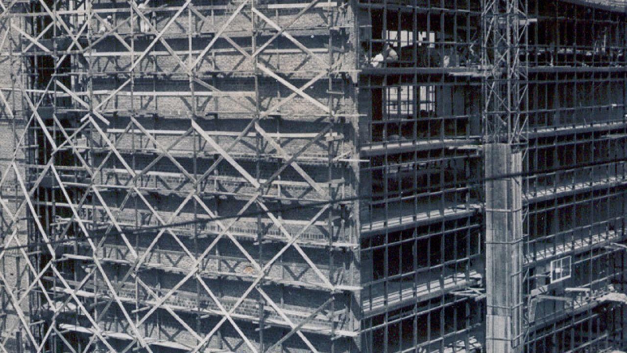 Teatro en construcción. | Foto:Gentileza CTBA