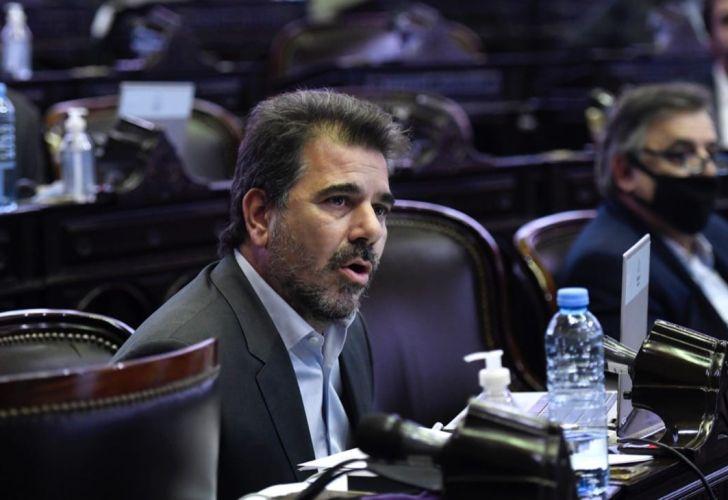El jefe del bloque PRO en Diputados, Cristian Ritondo.