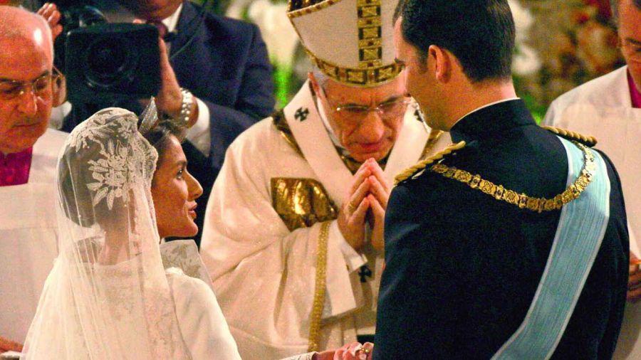 Aniversario de bodas de Felipe y Letizia