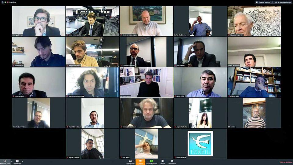 Por zoom. Se realizó el 28 de abril la primera reunión del Consejo de Asesores de Perfil.