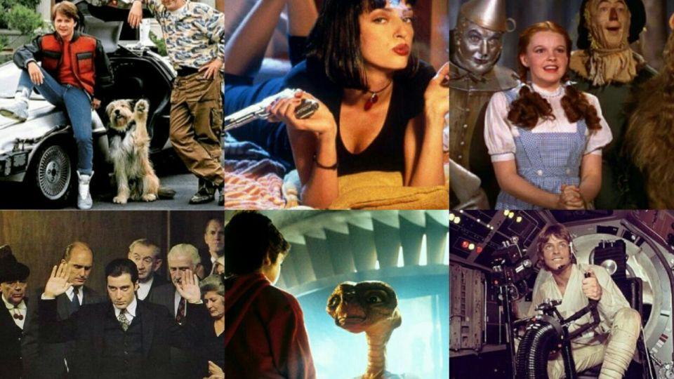 Hollywood eligió las 50 mejores películas de la historia