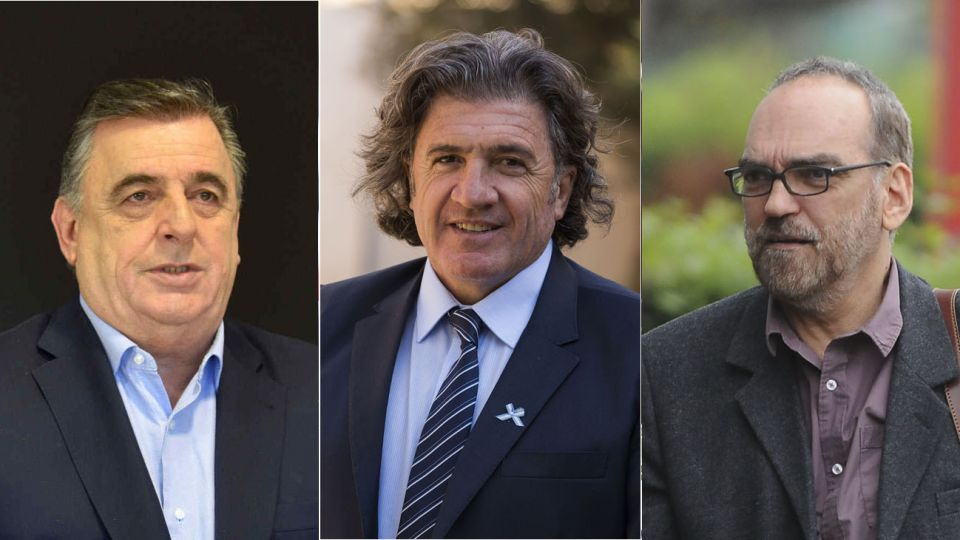 Mario Negri, Fernando Iglesias y Jose Luis Ramon