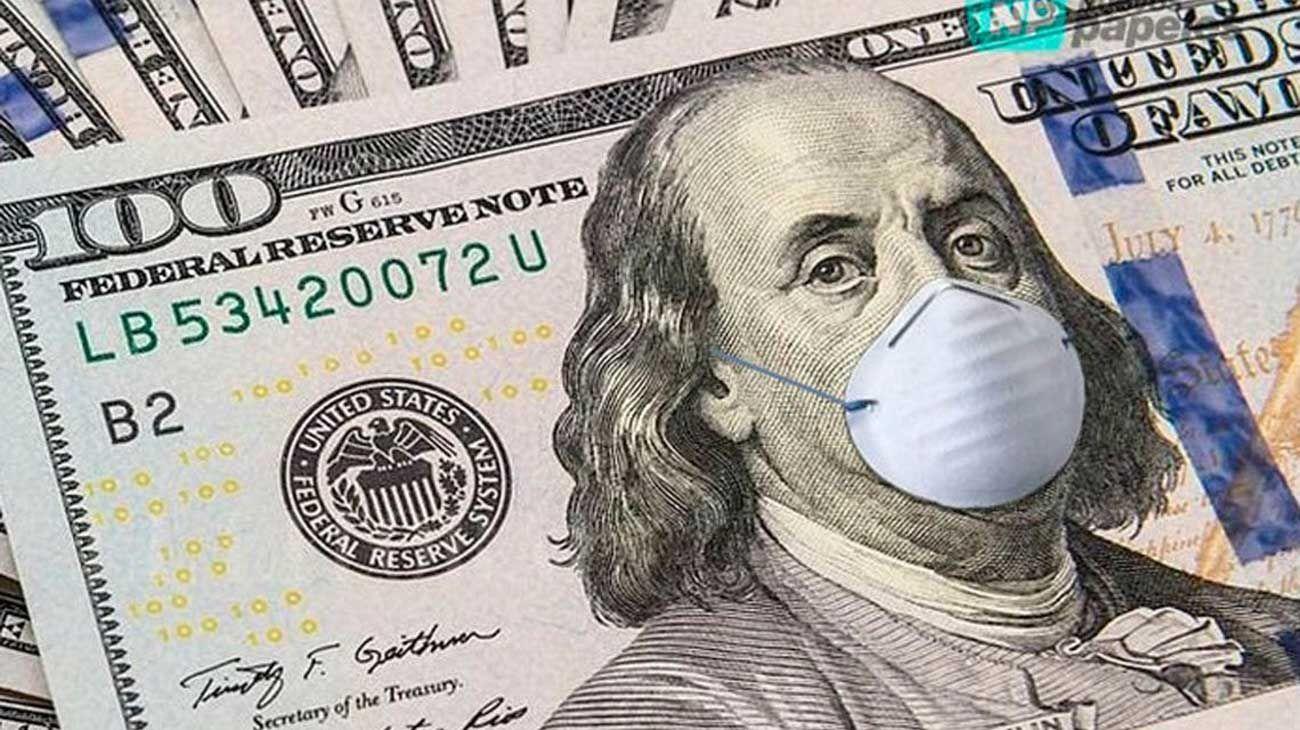 Pandemia. Con el centro en cuarentena, el dólar se sigue online.