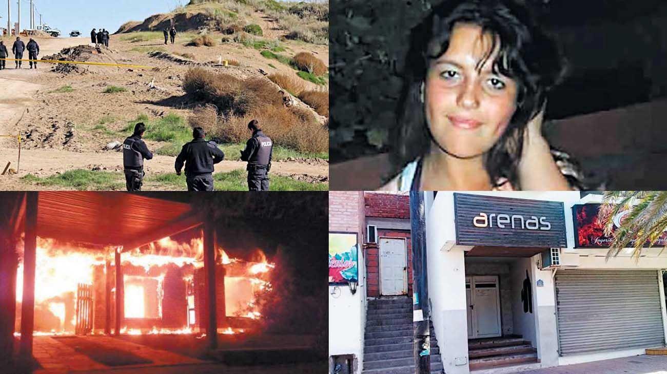 Víctima. Katherine tenía 17 años. La enterraron viva en un médano. La joven desapareció después de ir a bailar al boliche Arenas. El hallazgo del cuerpo provocó la ira de vecinos y familiares que salieron a protestar y prendieron fuego la comisaría y varias oficinas municipales.