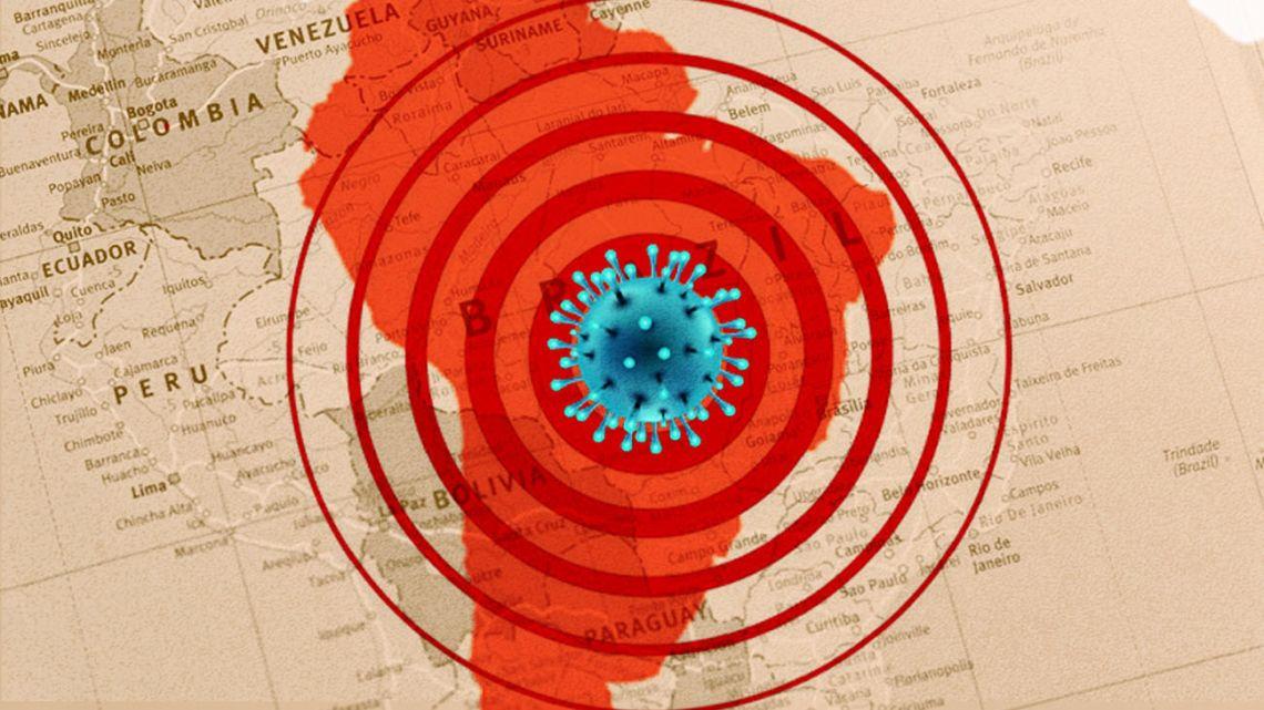 Pandemic South America.