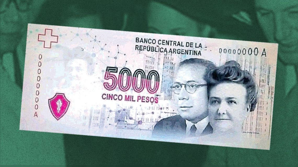 The new 5,000 peso bill.