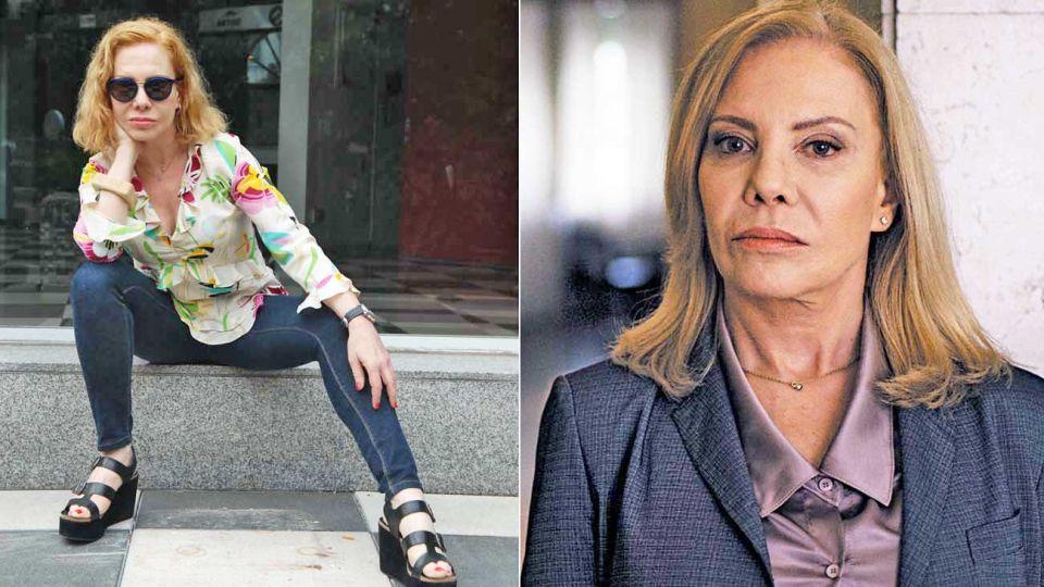 Estreno. La actriz es parte de Los internacionales, una de las pocas propuestas de ficción en español de la actualidad.