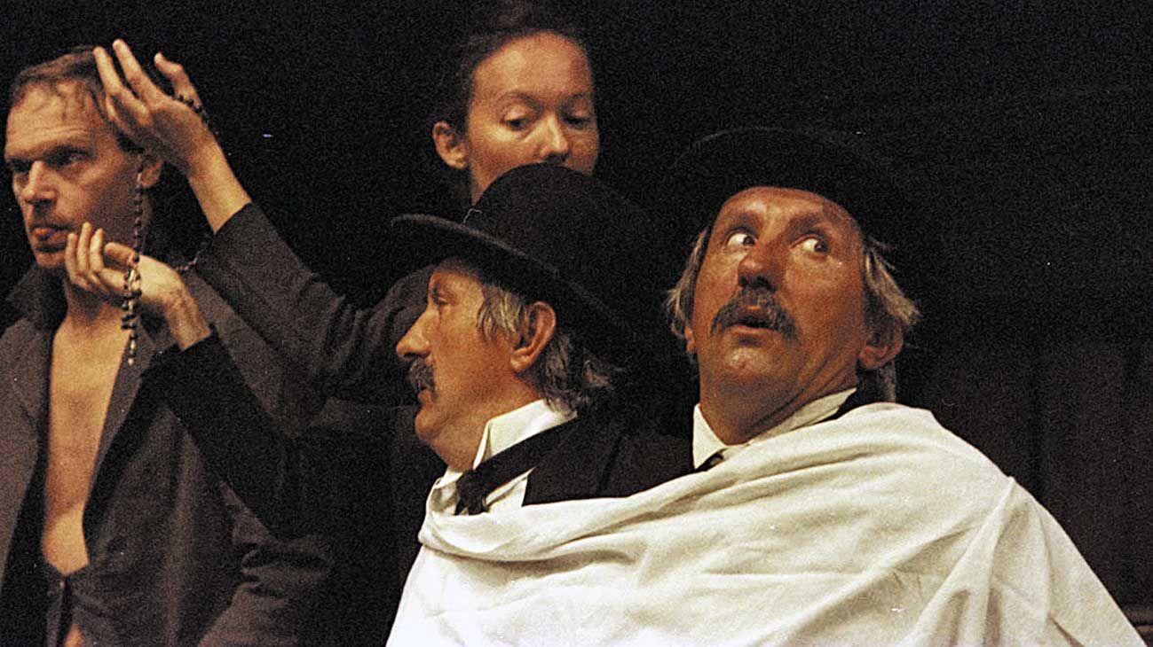 """Leyenda. La obra """"La hija del aire"""", con Pompeyo Audivert y Blanca Portillo, es tan solo una de las decenas de performances que resuenan en el famoso teatro."""