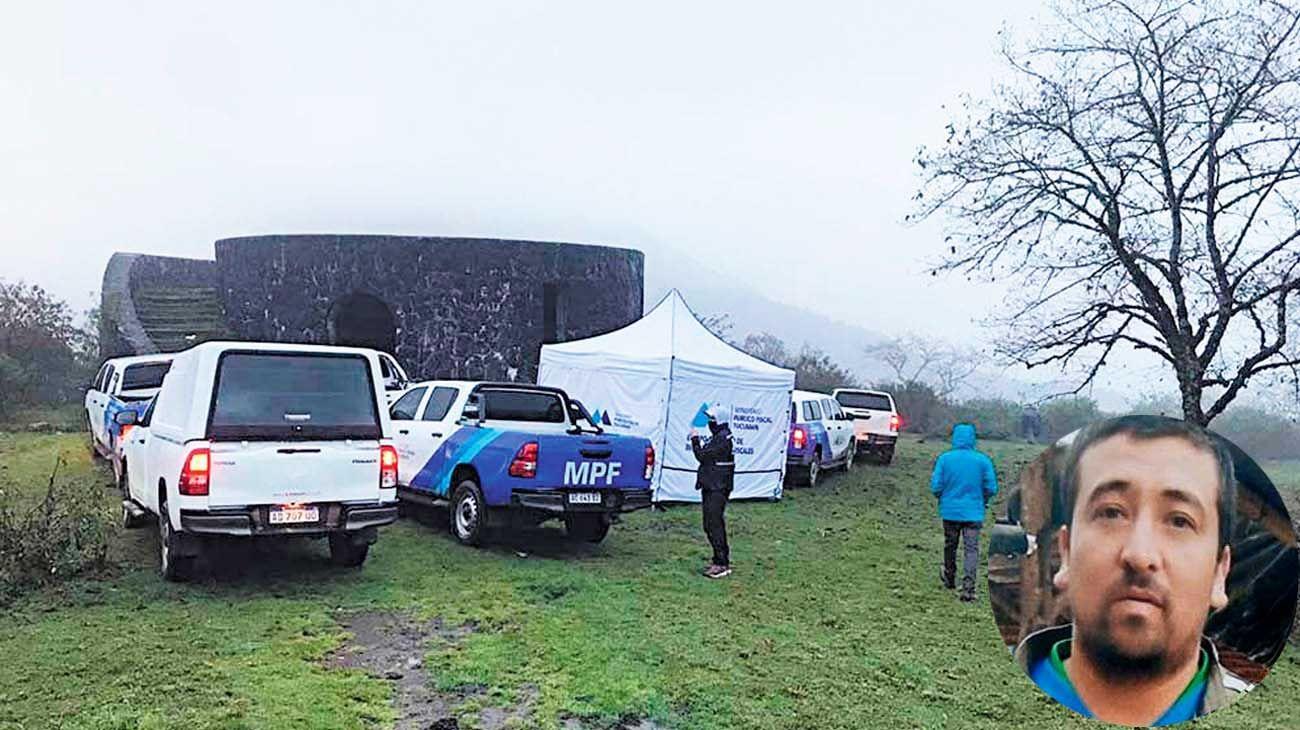 Victima. El cuerpo de Luis Espinoza fue encontrado el viernes 22 en Catamarca.