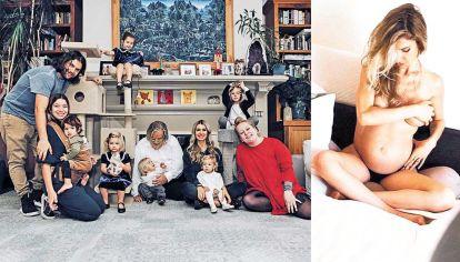 Familia. Agustina Picasso es argentina y espera una nena. Es el sexto hijo que tiene con Matt Groening, con quien vive en Los Angeles.