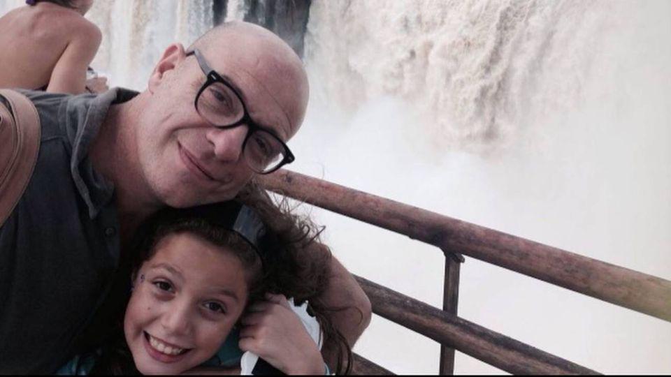 Campi y su hija