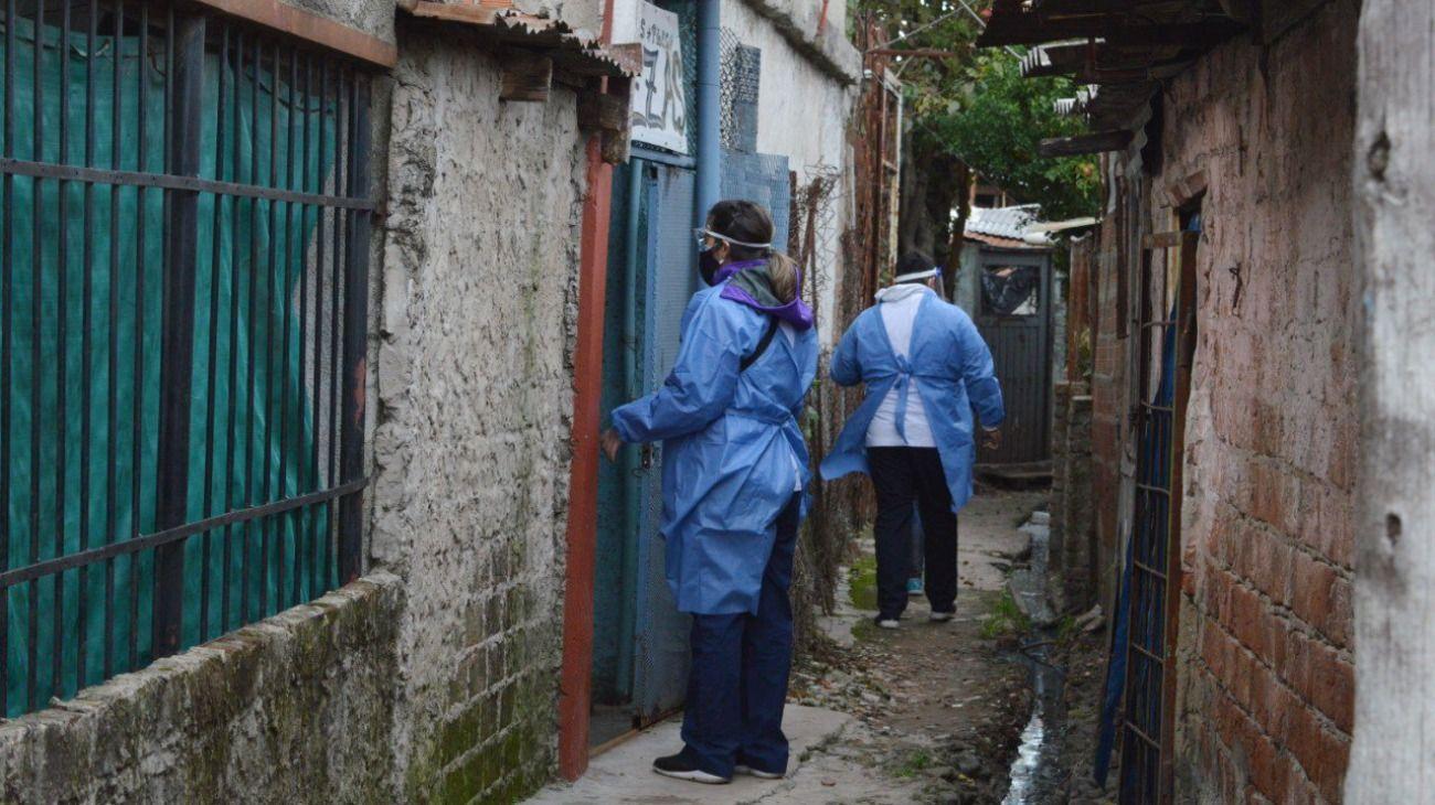 En Villa Azul, municipio que comparten Avellaneda y Quilmes, detectaron 53 casos positivos de covid-19