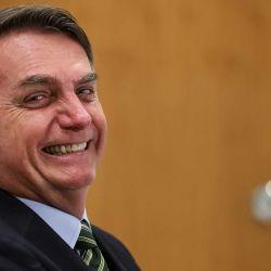 25 de mayo de 2020, Brasil, Brasilia: el presidente brasileño, Jair Bolsonaro, participa por videoconferencia en la Solemnidad de Investidura del Fiscal General Adjunto Carlos Alberto Vilhena en el cargo de Fiscal Federal de los Derechos del Ciudadano para el bienio 2020-2022. Foto: Marcos Corrêa / Palacio Planalto / dpa -  | Foto:DPA