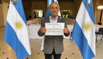 Solidaridad de parte de los infectólogos que asesoran al presidente