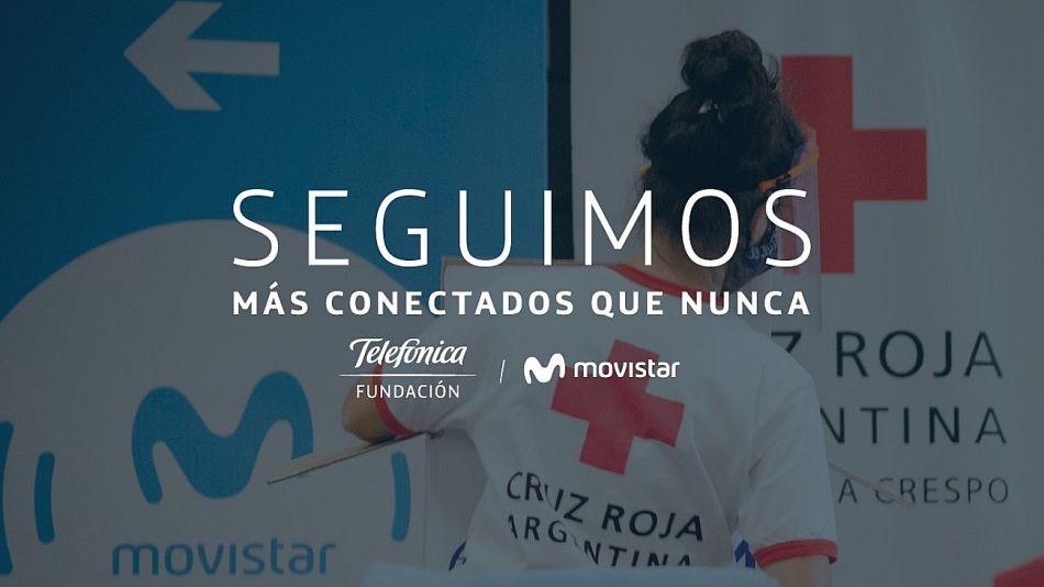 Seguimos más conectados que nunca, el nombre de la campaña de Fundación Telefónica Movistar de Argentina.