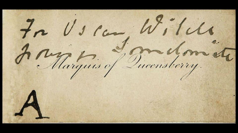 El 27 de mayo de 1895 Oscar Wilde era condenado a dos años de prisión por homosexual