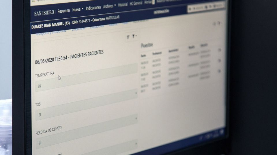 Tracker de Pacientes con QR. Hospital Boulogne 20200526