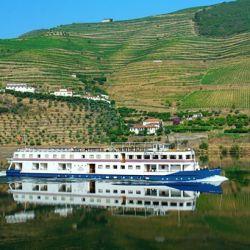 Valle Douro, capacidad: 48 pasajeros. Incluye todas las comidas a bordo y excursiones en el itinerario.