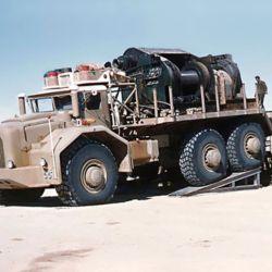 El T100 se diseñó para cargar hasta 50 toneladas.