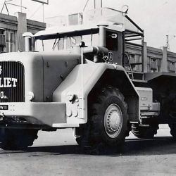 Solo se construyeron cuatro de estos camiones.