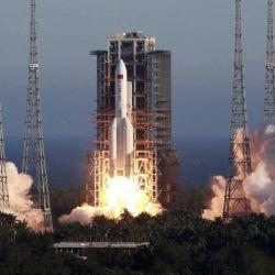 La misión Tianwen-1 Mars se llevará a cabo utilizando el cohete Long March 5.