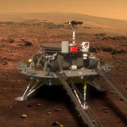 China intentará llevar un rover al planeta rojo.