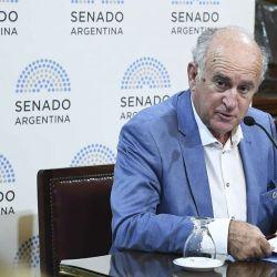 El senador Oscar Parrilli. | Foto:Cedoc