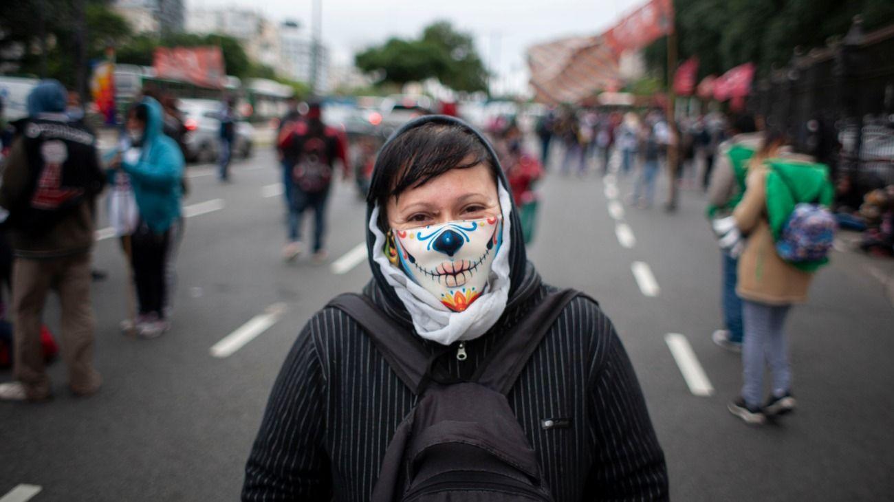 Imagen de carácter ilustrativo. Se esperan cinco manifestaciones este marte 26 de mayo.