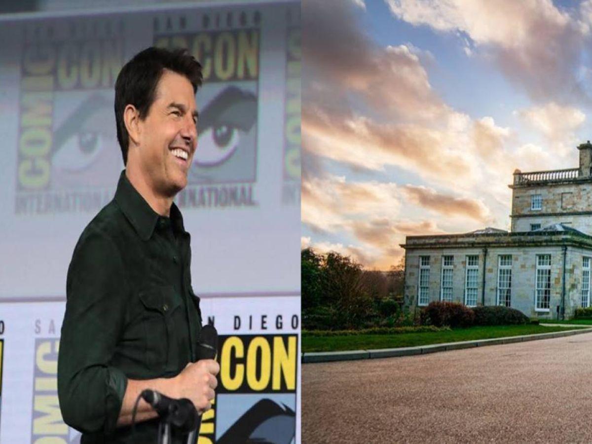 FOTOS  Tom Cruise pasa la cuarentena en una misteriosa mansión