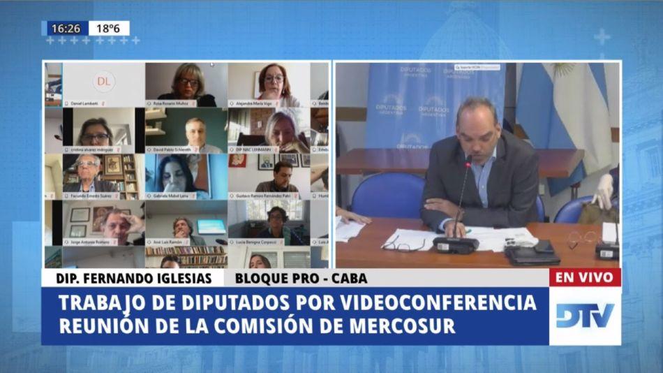 Mercosur comision Diputados 20200526