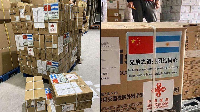 Primera donacion china