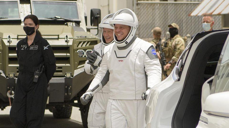 lanzamiento de SpaceX 20200527