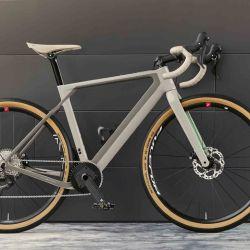 Esta bicicleta forma parte de una línea de productos especiales de BMV para la vida diaria.