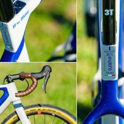 Como corresponde debido a su alto precio, la bicicleta lleva componentes de la gama más alta.