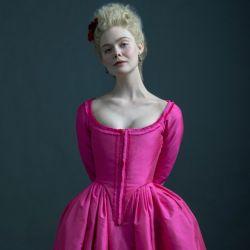 Elle Fanning en la piel de la más famosa emperatriz rusa.
