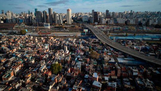 Fotogaleria Argentina Pobreza Vista Aerea De La Villa 31