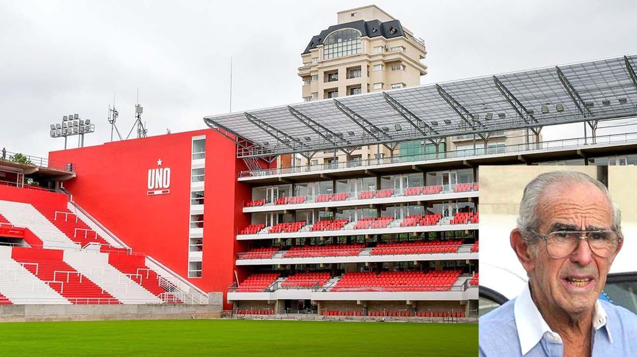 Ricardo Barreda no conoció el nuevo estadio de Estudiantes pero pidió que sus cenizas las esparcieran allí.