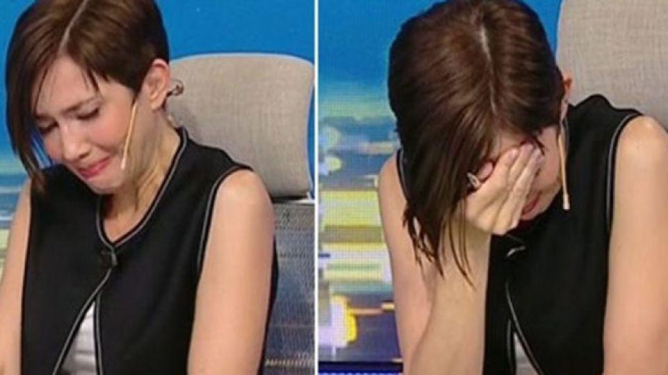 El desgarrador llanto de Cristina Pérez al ver a un paciente de COVID-19 antes de morir