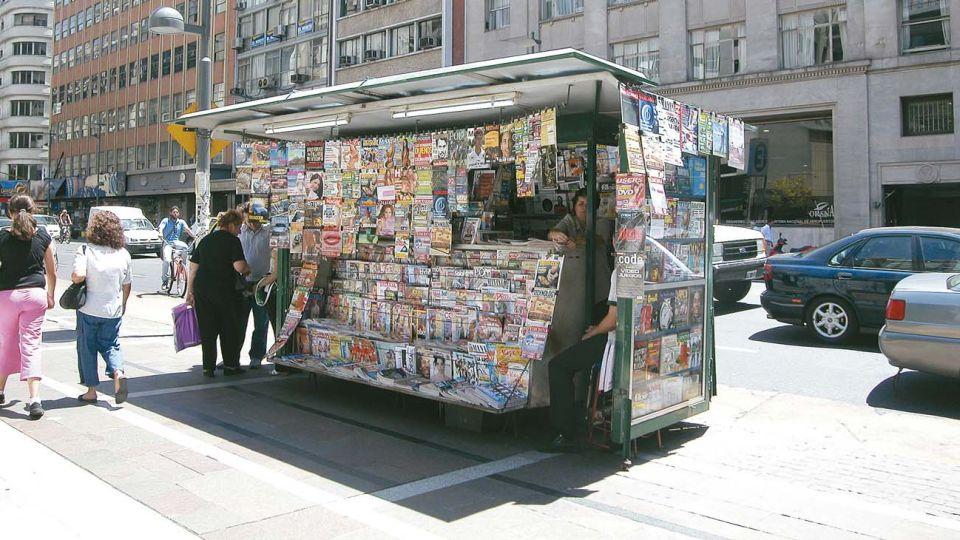 kiosco de diarios