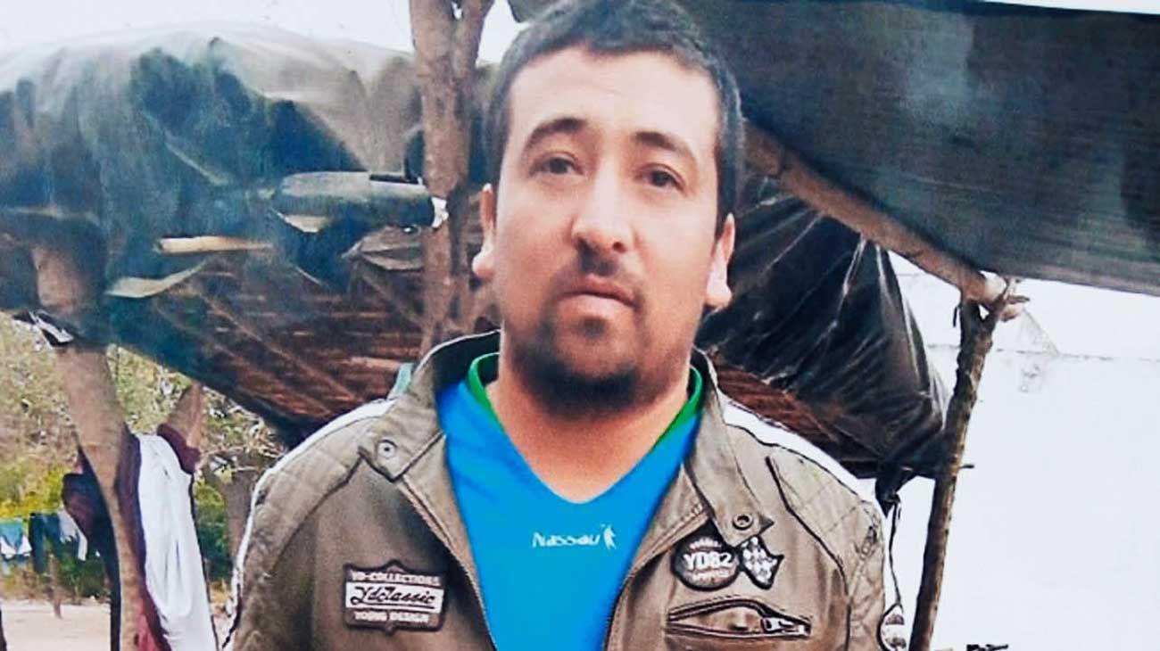 Espinoza. El cuerpo del trabajador rural fue hallado después de una semana de operativos y rastrillajes.