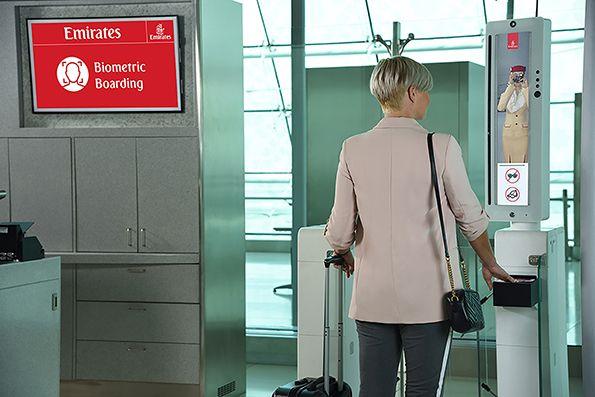 El reconocimiento biométrico de rostros, una de las medidas que se verán a la hora del check-in en los vuelos.