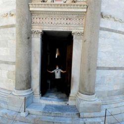 La Torre de Pisa es uno de los principales símbolos de Italia, tuvo una ceremonia oficial para comunicar la reapertura después de casi tres meses de cierre por la pandemia de coronavirus.